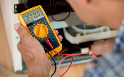 Electrical testing using a Amperimetro
